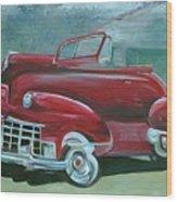 Cadillac 47 Wood Print
