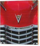 Cadillac Ambulance  Wood Print