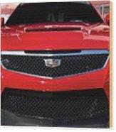 Cadillac Ats V-series Wood Print