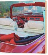Cadillac Convertible -  A Car Class  Wood Print