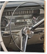 Cadillac Dash Wood Print