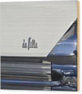 Cadillac De Ville Wood Print