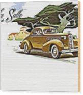 Cadillac Lasalle Wood Print