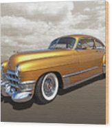 Cadillac Sedanette 1949 Wood Print