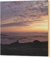 Cadillac Sunset IIi Panorama Wood Print