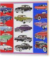 15 Cadillacs The Poster Wood Print