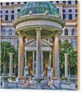 Caesar Columns Wood Print