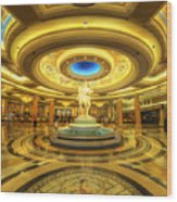 Caesar's Grand Lobby Wood Print