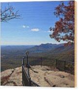 Caesars Head State Park Wood Print