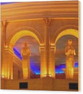 Caesar's Lobby - A C Wood Print