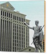 Caesars Palace Wood Print