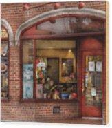 Cafe - Westfield Nj - Tutti Baci Cafe Wood Print