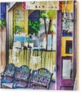 Cafe Joul Wood Print