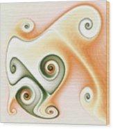 Cafe Latte Wood Print