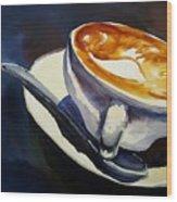 Cafe Noisette Wood Print