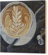 Caffe Vero Cappie Wood Print
