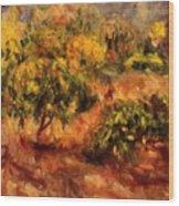 Cagnes Landscape 1919 Wood Print