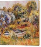 Cagnes Landscape 2 Wood Print