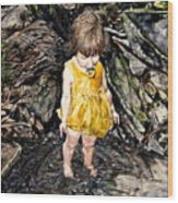 Caice At Otter Creek Wood Print