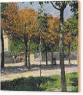 Caillebotte: Argenteuil Wood Print by Granger