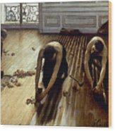 Caillebotte: Planers, 1875 Wood Print