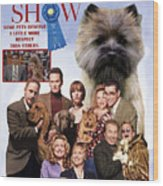 Cairn Terrier Art Canvas Print - Best In Show Movie Poster Wood Print