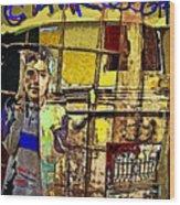 Cairo 07 Wood Print