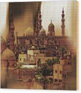 Cairo Egypt Art 03 Wood Print