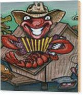 Cajun Critters Wood Print