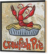 Cajun Food Trio Wood Print