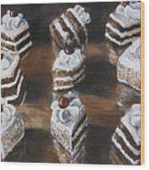 Cake Wood Print