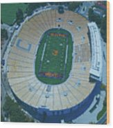 Cal Memorial Stadium Wood Print