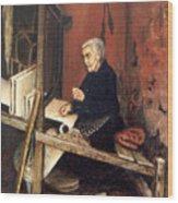 Calabrian Weaver Wood Print