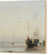 Calais Pier Wood Print
