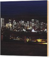 Calgary Skyline 2016 Wood Print