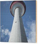 Calgary Tower Wood Print