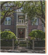 Calhoun Mansion Wood Print