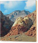 Calico Basin Nevada Wood Print