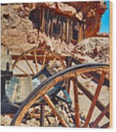 Calico Ghost Town Mine Wood Print