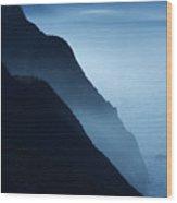 California Big Sur Coast Wood Print