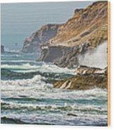 California Coasr Wood Print