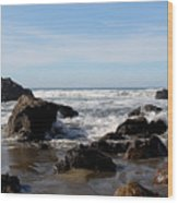California Coast 11 Wood Print