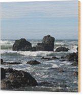 California Coast 13 Wood Print
