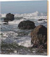 California Coast 18 Wood Print