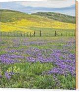 California Country Wood Print
