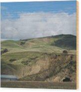 California Countryside Photograph Wood Print