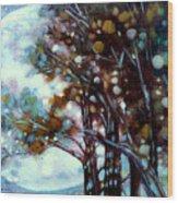 California Cypress Wood Print