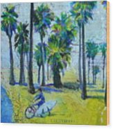 California Dreaming Wood Print