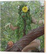 California Girl Wood Print by Bob Christopher