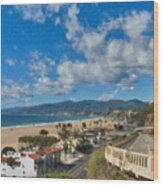 California Incline Palisades Park Ca Wood Print